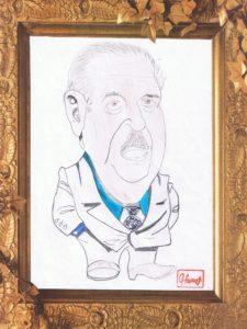 12- caricature